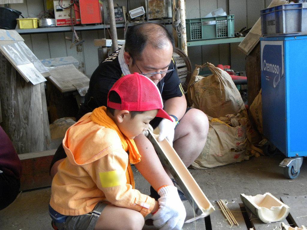 竹食器づくり