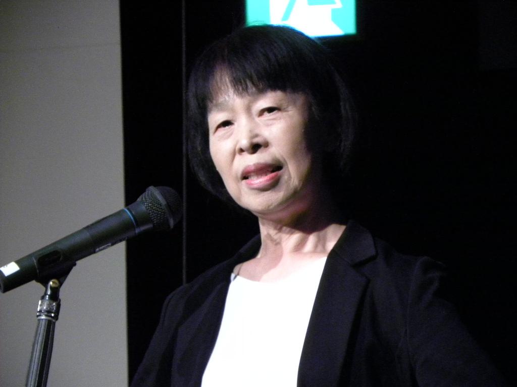KHJとちぎベリー会齋藤三枝子理事長による「特別報告」