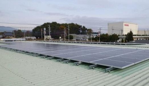 西那須野センターの太陽光パネル